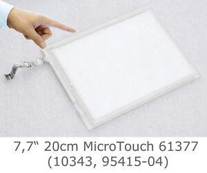 "20cm 7,7 "" 7 "" 8 "" écran Tactile Microtouch P/n K61377 95415 10343 Ok Koepqegq-07171708-298994382"