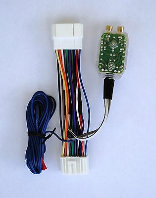 Factory Radio Amplifier Amp Sub Wire Harness + Inline Converter Interface Kit