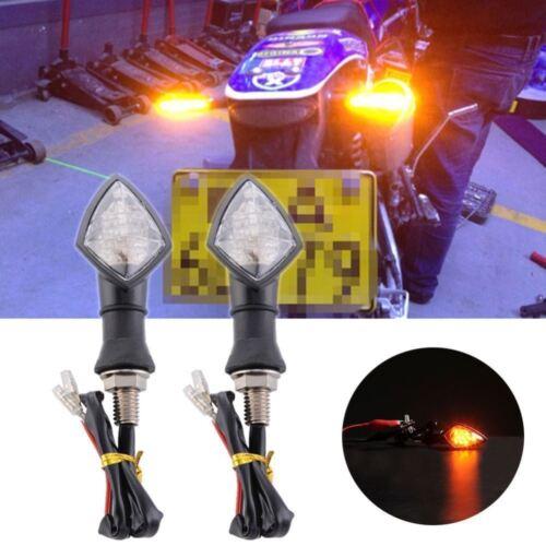 Pair of LED Turn Signal Indicator Lights For Aprilia Tuono 1000 RSV 4 R SMV SL