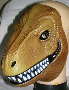 Dinosaurs-Mask-Giant-Animal-Lifelike-Look-amp-Colour