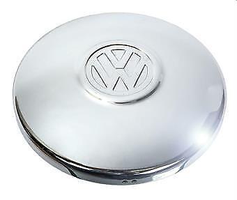 VW MAGGIOLINO BORCHIA RUOTA T1 68-03 T2 72-90 CON EMBLEMA VW VOLKSWAGEN  BOMBATA