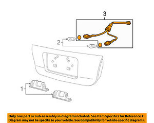 Pontiac GM Oem 0406 Gto License Plate Light Lsocket Wire. Is Loading Pontiacgmoem0406gtolicenseplate. Wiring. Diagram Wiring 04 06 Gto At Scoala.co