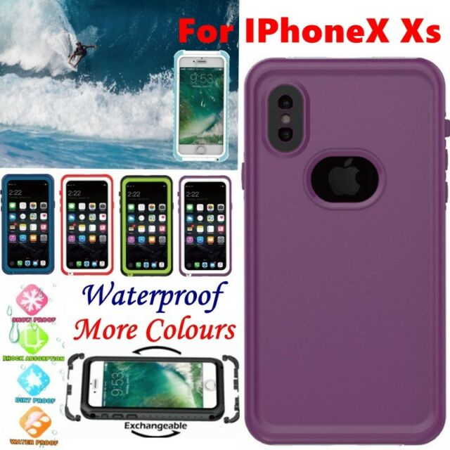 Waterproof Heavy Duty Shock Dust Dirt Proof Cover Case for IPhone7 8 X s Plus