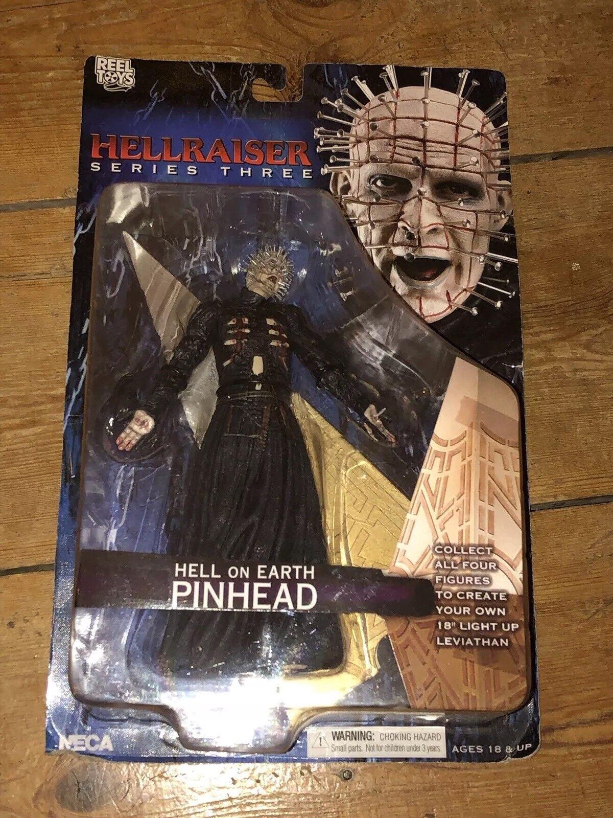 NECA Hellraiser Series 3 Hell On Earth Pinhead  AFHRS3 4