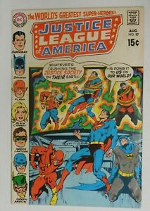 JUSTICE-LEAGUE-OF-AMERICA-82-Adams-Cover-VG-1970-DC-Vintage-Comic