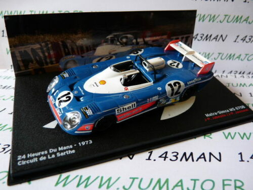24H54M 1//43 IXO 24 H DU MANS MATRA SIMCA MS 670B 1973 Jaussaud//Jabouille #12