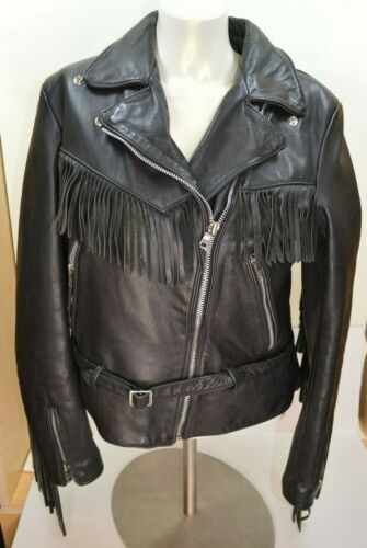 Harley Davidson American Cowhide Fringed Women's B