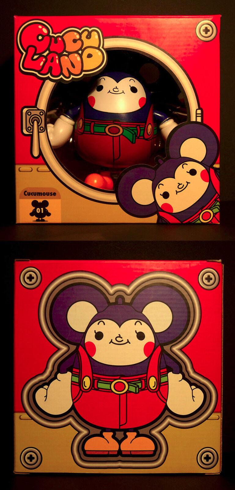 CucuMouse - Edition 2006 - Toy2R 6  Vinyl Figure by Kei Sawada