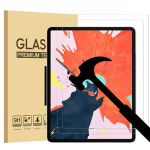 Tempered-Glass-Clear-Screen-Protector-For-Apple-iPad-Pro-11-034-12-9-034-3rd-Gen-2018