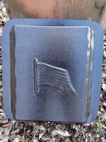 """.150 plastic flag bench leg 1 mold for small bench top molds 12/"""" x 11/"""" x 2.25/"""""""