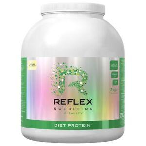 Details About Reflex Diet Protein 2kg Lean Protein Shake Weight Loss Powder Nutrition Drink