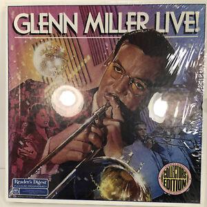 Glenn Miller LIVE! 7 Vinyl Lp Box Set Collectors Edition Jazz Vinyl Records