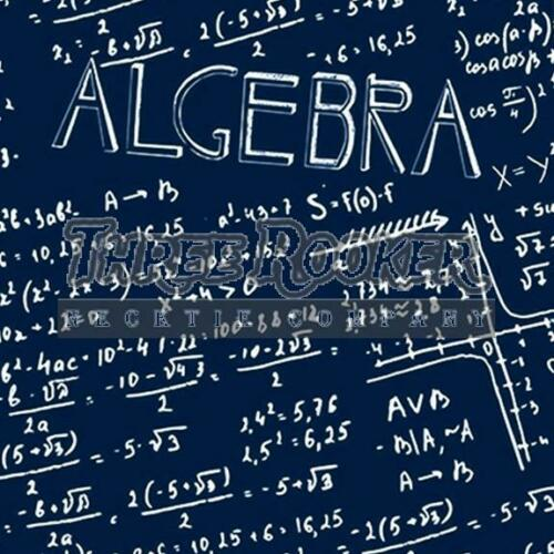 Algebra Allover Tie Men/'s Math Education Teacher Neck Ties Necktie Brand New