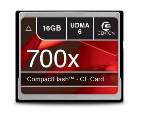 Centon 16gb Udma 6 Cf Compact Flash Card 700x s1-cf700x-16g