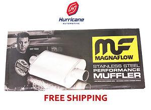"""Magnaflow 12265 Performance Muffler Camaro/Firebird 2.5"""" Offset In/Dual Out"""