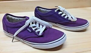 Vans Atwood Low Womens Size 6 Black Canvas Skate Shoes