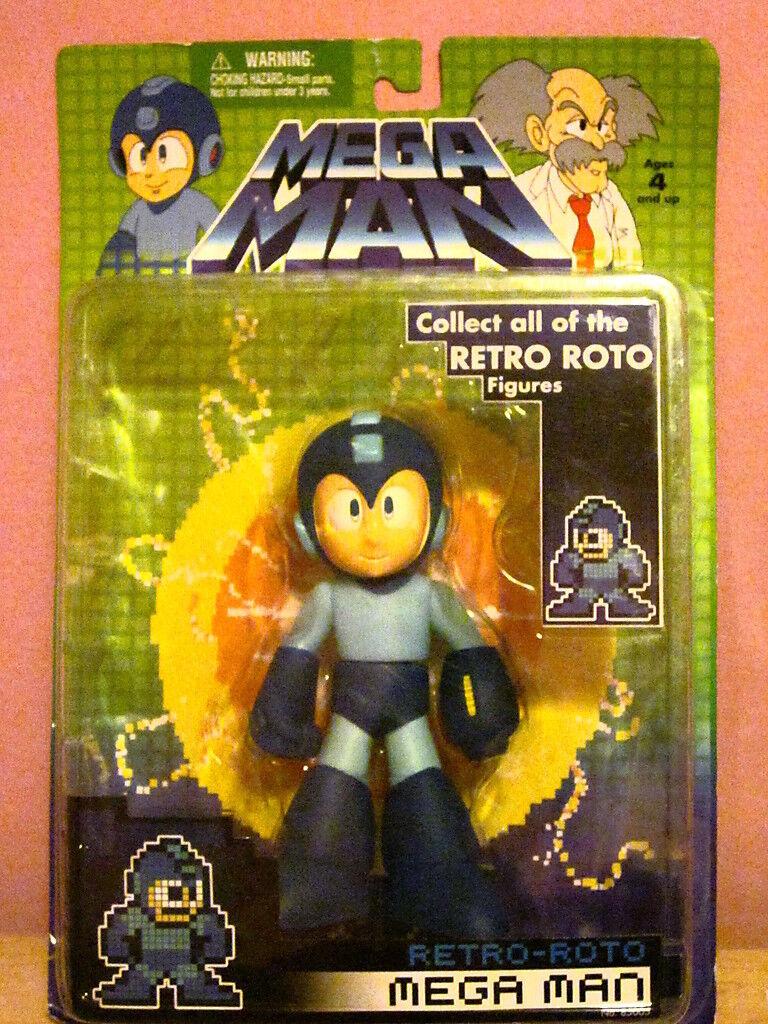 Mega Man Retro-Roto Mega Man Figure