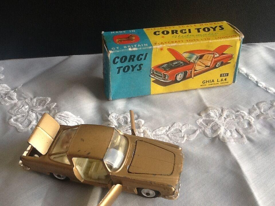 Bienvenue Bienvenue Bienvenue dans la nouvelle boutique en trois étapes pour célébrer les quatre auspicieux Corgi. Toys 241 ghia L.6.4   chrysler engine | Vogue  | Service Supremacy  | Grandes Variétés  b33c2f
