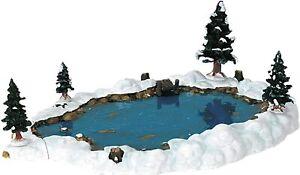 Lemax Christmas Village - Mill Pond, Set of 6