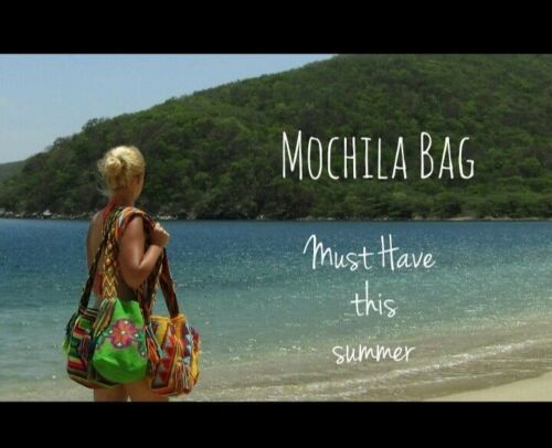 Bag Handmade Colombian By Mochila Wayuu Missnative p7Y7q6
