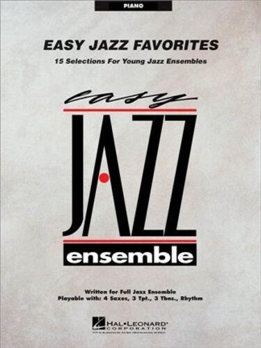 Easy Jazz Favorites Piano  Piano   Part HL07010298