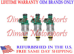 *BEST UPGRADE* Genuine BOSCH 4-Nozzle Tip//Hole Fuel Injector Set of 6