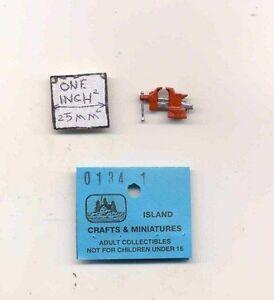FISHING POLE ROD  1//12 scale dollhouse metal miniature ISL2656 Craft Island