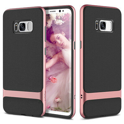 For Samsung Galaxy S8/S8+/S7/S7 Edge Slim Hybrid Soft TPU Hard Bumper Case Cover