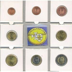 Espagne 2008 SERIE 8 MONNAIES EURO SUP