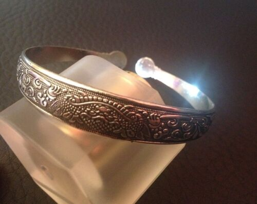 El tíbet plata pulseras armspange brazalete cirujana tíbet plata Schick trendy