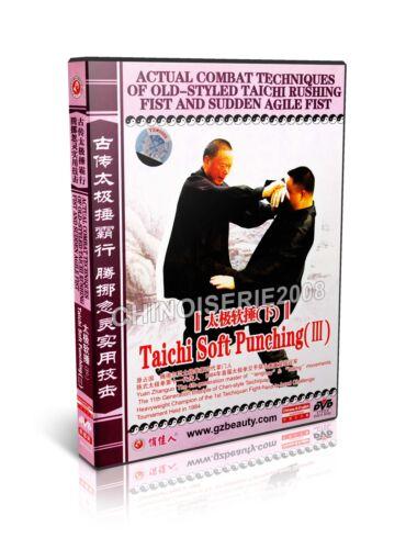 3DVDs Taiji Rushing Fist /& Sudden Agile Fist Taichi Soft Punching I,II,III