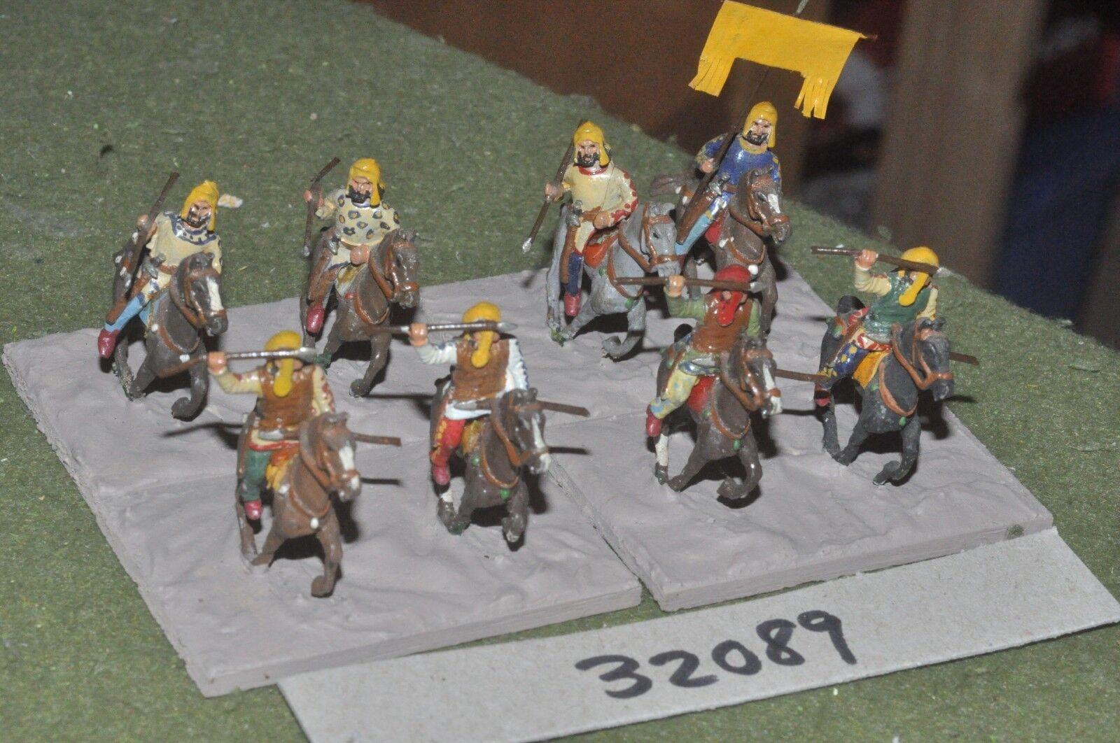 25mm classical   persian - light 8 figures - cav (32089)