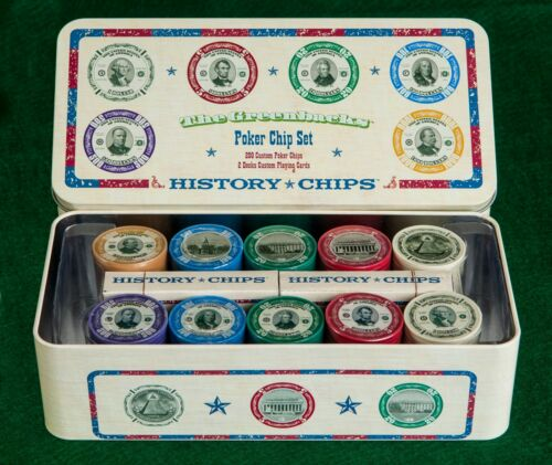 The Greenbacks - Brand New Poker Chip Set!!! Fun to Play with 200 Chips