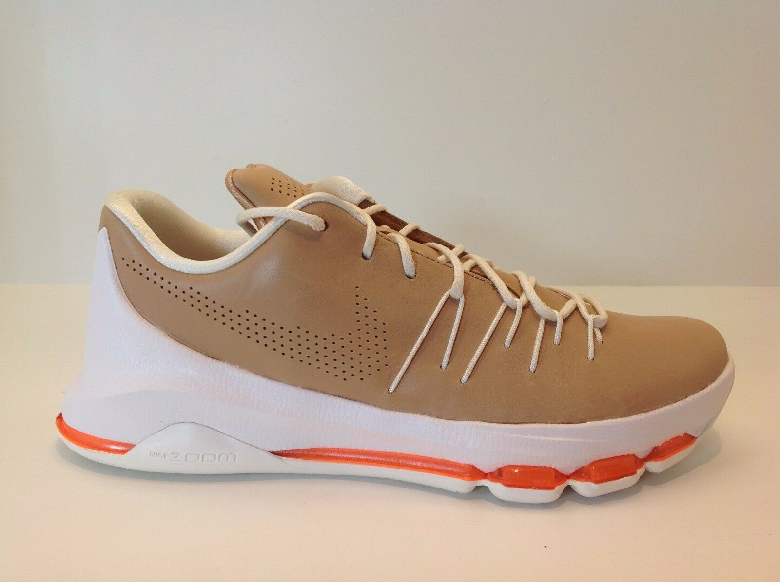 Nike KD 8 EXT Tan/Orange/White Men's Basketball Comfortable Great discount Casual wild