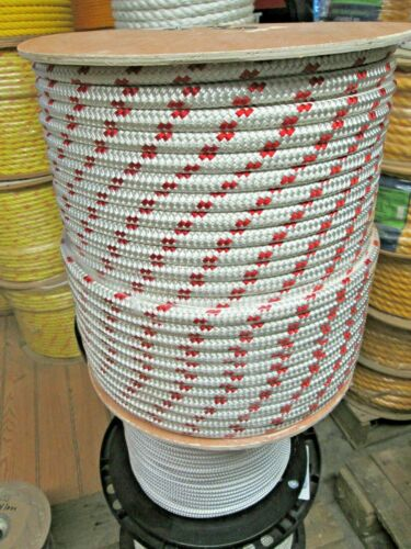 """wire pulling rope,anchor rope 5//16/"""" x 150/' double braid Polyester Made In USA"""