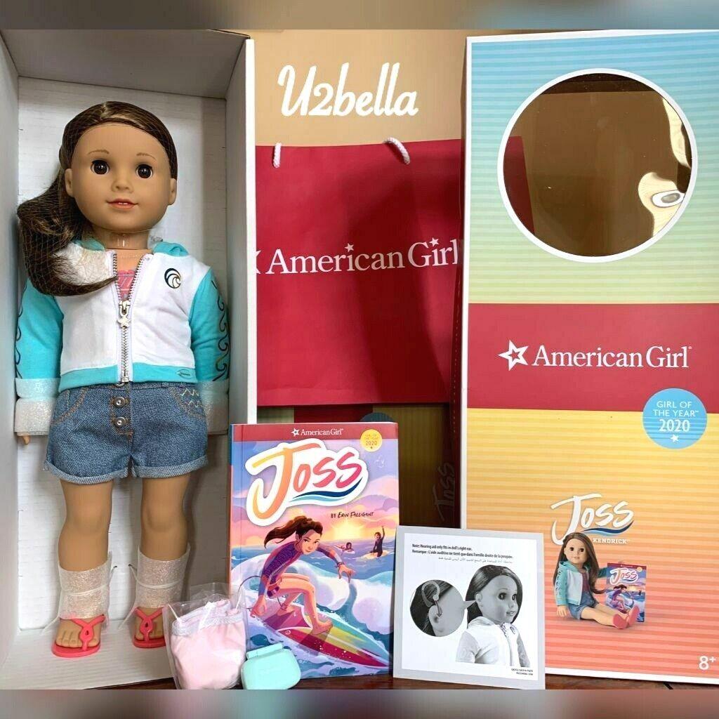 American Girl Joss Doll /& Book Kendrick 2020 BONUS Surfer Girl NIB GOTY