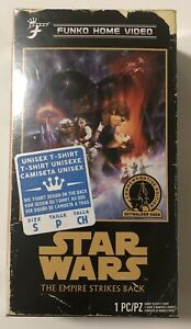 FUNKO-VHS-BOX-STAR-WARS-THE-EMPIRE-STRIKES-BACK-WALMART-EXCLUSIVE-T-SHIRT-Small