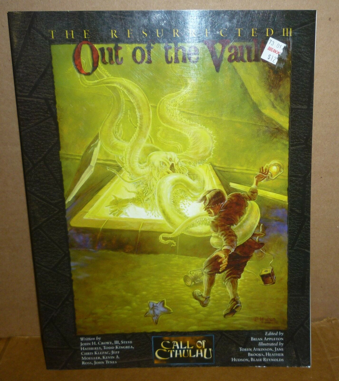 Ctutti of Cthulhu RESSURECTED III  OUT  OF THE VAULT RPG libro Good Condition  divertiti con uno sconto del 30-50%