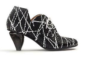 Lisa-Tucci-Lace-Up-Shoe-Tursi-41-Jakson-Bianco-Black-White-Mid-Shoe-Boots