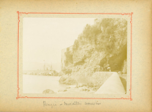 Algerie-Bejaia-Bougie-Murailles-sarrasines-Vintage-citrate-print