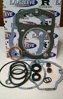 Top End Gasket Kit Honda Xr400r Xr 400r 1996-04 Head Base Valve Seals Exhaust