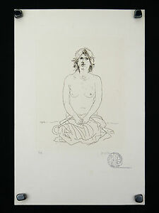 Jacob-Hillenius-1934-1999-Engraving-Naked-Erotic-Nacht-Nude-Holland-Naakt