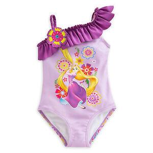 795bdaaf03 Image is loading Disney-Store-Princess-Tangled-Rapunzel-One-Piece-Swimsuit-