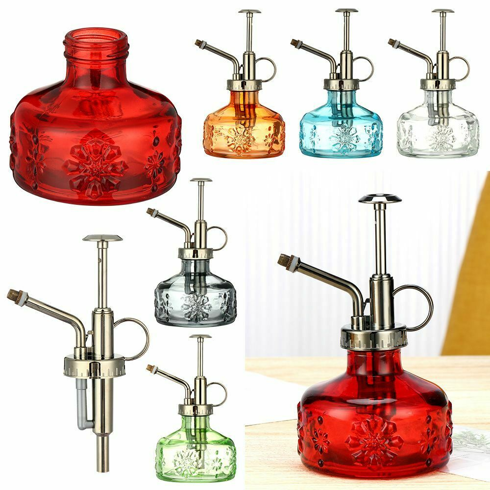 Home Living Vintage Style Retro Watering Can Plant Spray Bottle Gardening Pot