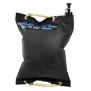 Original-Swiss-Switzerland-army-rubber-Water-bag-with-valve-20-liter-5-gal