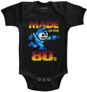 Kleidung, Schuhe & Accessoires Effizient Mega Man Capcom Videospiel Made In The 24.4ms Baby-strampler Onezies 6-24 Monate