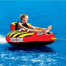 "SportsStuff  Speedzone 1 Rider 54"" Inflatable Water Tube Boat Towable 53-1920"