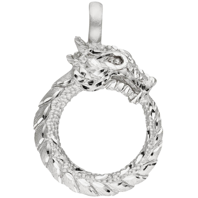 Colgante Adorno para el Cuello de silver 925 Cubierta Rodio Parcialmente Mate ,
