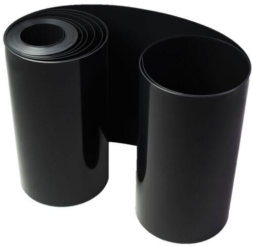 Wurzelsperre Bambussperre Rhizomsperre HD PE Folie schwarz 1mm 70 cm 25 m