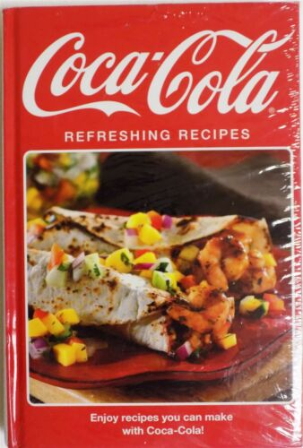 5 Book Cookbook Set Hardcover Campbell's Velveeta CocaCola Stove Top Bacon New
